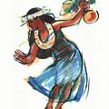 Hula Dancer With Uli by Judith Kunzle