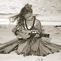 Hula Girl by Himani - Printscapes