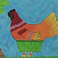 Hula Hen by Tami Maldonado