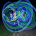 Hula Hoop In Light by Deborah Napelitano