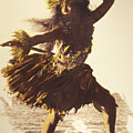Hula In A Ti Leaf Skirt by Himani - Printscapes