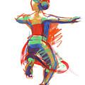 Hula Wahine Ikaika by Judith Kunzle