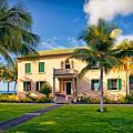 Hulihe'e Palace, Kona, Big Island Hawaii by Sam Antonio Photography