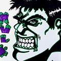 Hulk  by Lakeesha Mitchell