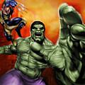 Hulk by Pete Tapang