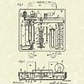 Humidity And Temperature Regulator 1925 Patent Art by Prior Art Design