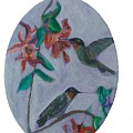Humming Birds by Mikki Alhart