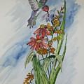 Hummingbird 2 by Ethel Dixon