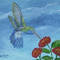 Hummingbird by Alice Blue