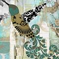 Hummingbird Batik by Mindy Sommers