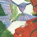 Hummingbird Don't Fly Away by Anne-Elizabeth Whiteway