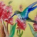 Hummingbird II by Sharon Reed