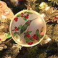Hummingbird Ornament by Debbie Storie