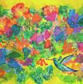 Hummingbird by Paper Jewels By Julia Malakoff