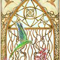 Hummingbird Sanctuary by Lise Winne