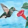 Hummingbird Trumpet by David Bigelow