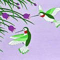 Hummingbirds by Michael Jernegan