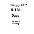 Humorous 25th by Florene Welebny