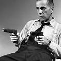 Humphery Bogart As Gangster Roy Earle High Sierra 1941 by David Lee Guss