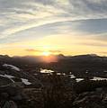 Humphreys Basin Sunset by Travers Morgan