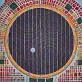 Hundertwasser Shuttle Window by Jesse Jackson Brown