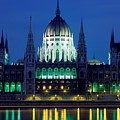 Hungarian Parliament Building by Bert Mailer