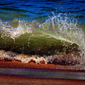 Hungry Wave Of Fenwick Island by Bill Swartwout Fine Art Photography