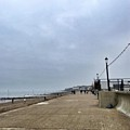 Hunstanton At 4pm Yesterday As The by John Edwards