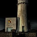 Hunstanton Lighthouse At Night by John Edwards