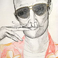 Hunter S. Thompson by Darkest Artist