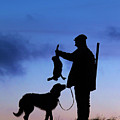 Hunter With Dog by Arterra Picture Library
