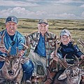 Hunters -  Three Generations by Diann Baggett