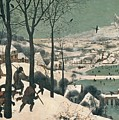 Hunters In The Snow by Pieter the Elder Bruegel