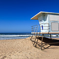 Huntington Beach Lifeguard Tower Photo by Paul Velgos