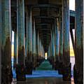 Huntington Beach Pier 2 by Richard Cronberg