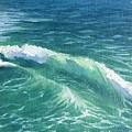 Huntington Small Waves  by Jie Yang