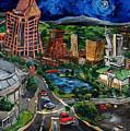 Huntsville Skyline by Carole Foret