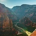 Hurricane Canyon In Utah Usa by Artpics
