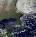 Hurricane Sandy Battering The United by Stocktrek Images
