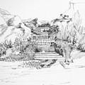 Hut In The Hills by Padamvir Singh