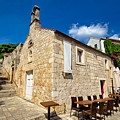 Hvar Old Stone Church And Antic Steps by Brch Photography