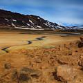 Hverir Geothermal Springs by Ceri Jones