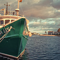 Hyannis Harbor Cape Cod Massachusetts by Edward Fielding