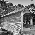 Hyde Hall Covered Bridge by Guy Whiteley