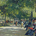 Hyde Park - London  by Count Girolamo Pieri Nerli