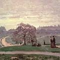 Hyde Park by Claude Monet