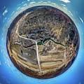 Hyde's Mill High Altitude Little Planet by Randy Scherkenbach