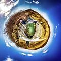 Hyde's Mill Little Planet by Randy Scherkenbach