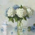 Hydrangeas For Susan by Hope Reis