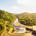 Hydropower Valley River by Jorgo Photography - Wall Art Gallery